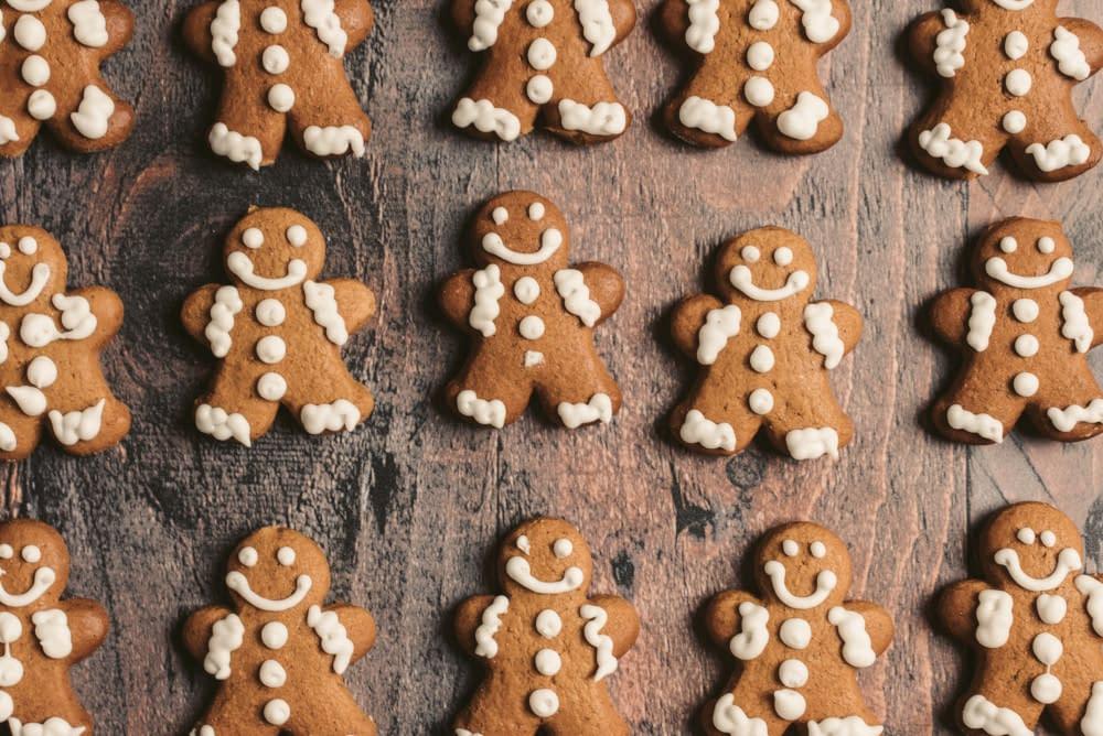 Werkblad voor met koekjes