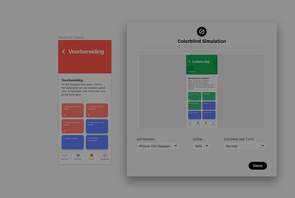 Kleurenblindheidssimulator van Stark voor je ontwerpprogramma's